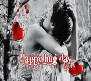 Обои на телефон ты, счастливые, пара, обнимать, милые, любовь, день, валентинка, love, happy hug day, cute hug