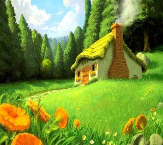 Обои на телефон цветы, дом, house of flowers, ----------------------