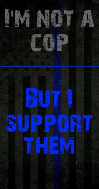Обои на телефон полиция, синие, респект, линии, америка, support, blue thin line