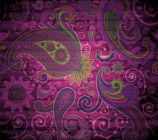 Обои на телефон шаблон, фиолетовые, абстрактные, purple pattern