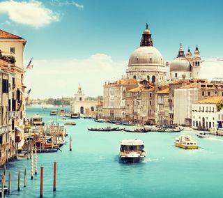 Обои на телефон великий, природа, италия, здания, вода, венеция, архитектура, italy buildings, grand canal, europ, canal