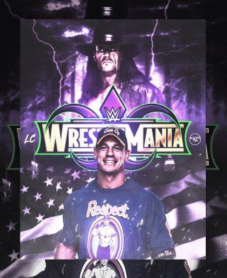 Обои на телефон джон, wwe wrestlemania 34, wwe, wrestlemania, undertaker