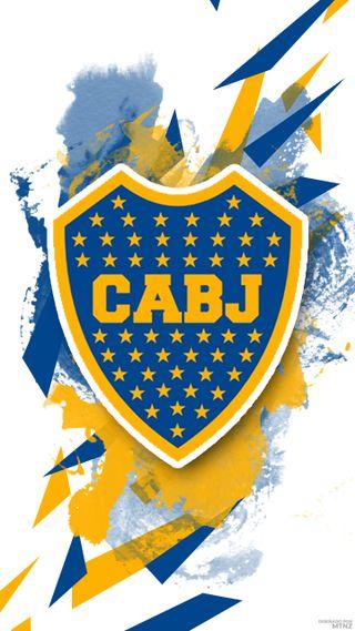 Обои на телефон 2018, логотипы, футбольные, футбол, команда, аргентина, бока, щит