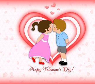 Обои на телефон валентинки, счастливые, сердце, пара, любовь, каникулы, день, love