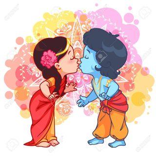 Обои на телефон целоваться, кришна, романтика, радха, маленький, любовь, господин, radhakrishna, radha krishna, love, little krishna, flute, everlasting love