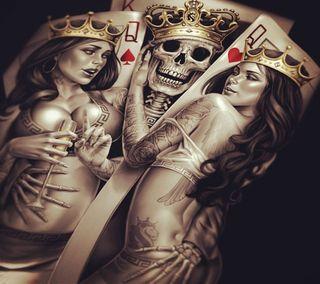Обои на телефон король, iam, i m king