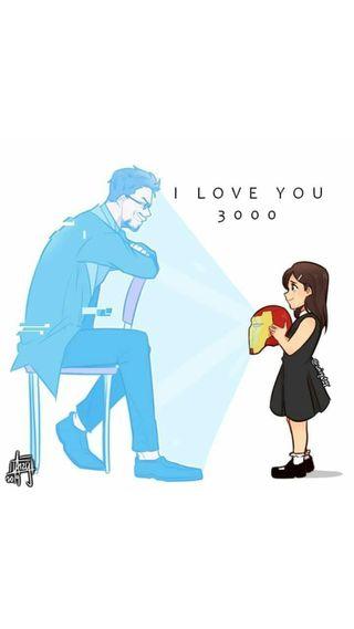 Обои на телефон старк, ты, тони, мстители, любовь, конец, игра, железный человек, love you 3000, end-game, 3000