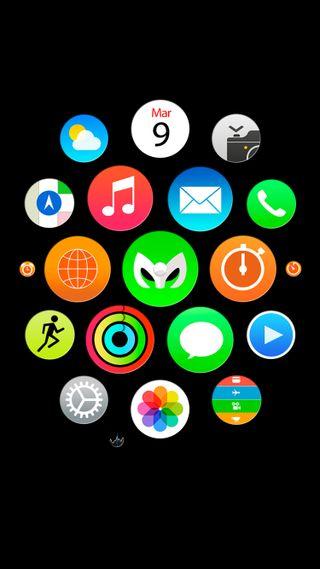 Обои на телефон домашний экран, эпл, черные, часы, apple