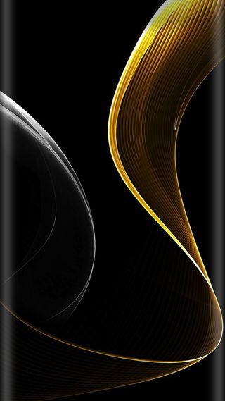 Обои на телефон стиль, серебряные, красота, золотые, грани, абстрактные, s7, edge style