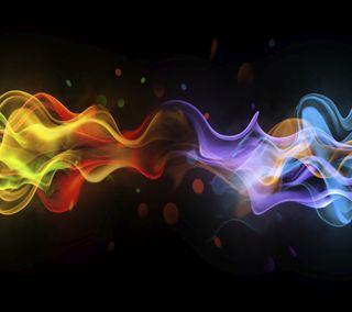 Обои на телефон цветные, пламя, стиль, огонь, абстрактные, xperia style, xperia