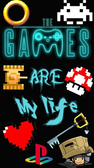 Обои на телефон kingdom hearts, metal gear, ps1, the game are my life, игра, жизнь, сердце, игры, металл, марио, зельда, мой, механизм, соник, королевство