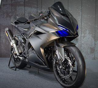 Обои на телефон мотоцикл, японские, черные, хонда, мотоциклы, honda