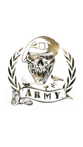 Обои на телефон армия, череп