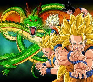 Обои на телефон эволюция, сайян, мяч, дракон, гоку, аниме, goku evolution, dragon, dbz, dbs
