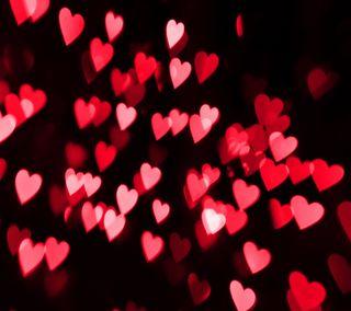 Обои на телефон боке, сердце, праздник, любовь, валентинка, love