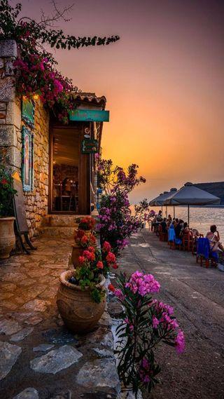 Обои на телефон улица, романтика, природа, пейзаж, лето, естественные, город, архитектура, resullcanndemirrx, land
