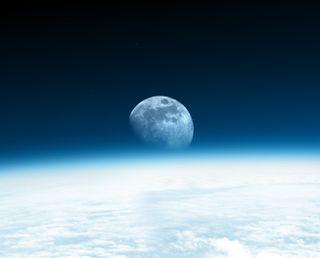 Обои на телефон луна, космос