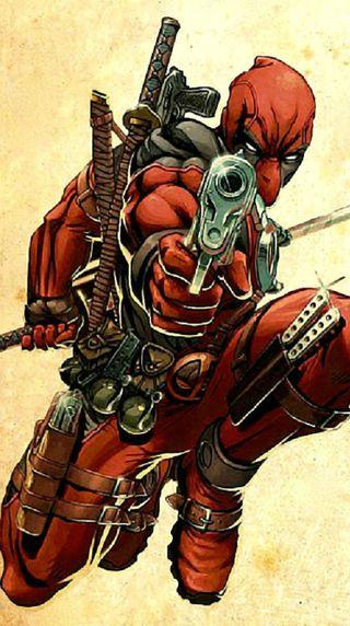 Обои на телефон оружие, меч, мертвый, марвел, люди, комиксы, дэдпул, x-men, pool, marvel, dc