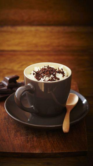 Обои на телефон чай, шоколад, утро, любовь, кофе, забавные, love, choco, breakfast