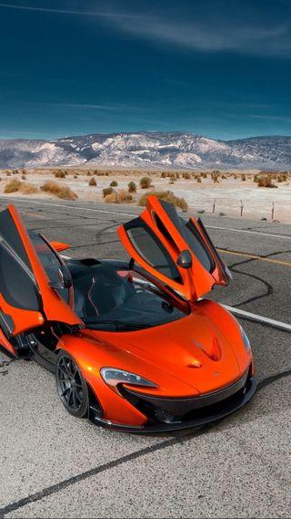 Обои на телефон суперкары, оранжевые, машины, макларен, зверь, гиперкар, mclaren, orange beast, mclaren p-1