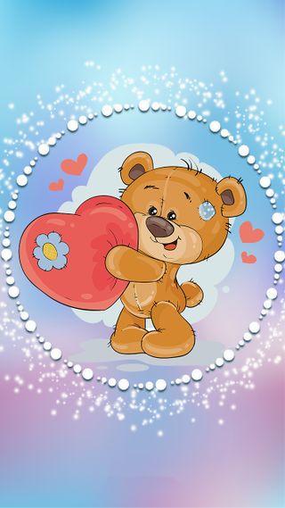 Обои на телефон позитивные, ты, счастливые, сердце, пузыри, праздник, милые, медведь, маленький, любовь, круги, космос, звезды, забавные, животные, думать, think positive, love, little bear, i love you, for you with love, congratulations