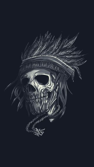 Обои на телефон банда, японские, череп, темные, скелет, арт, амолед, yakuza skull v2, yakuza, deliquent, art, amoled