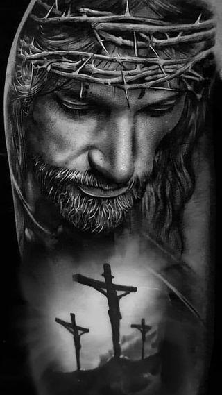 Обои на телефон b and w, crucified, son of god, черные, белые, бог, исус, христианские, крест, христос, верить
