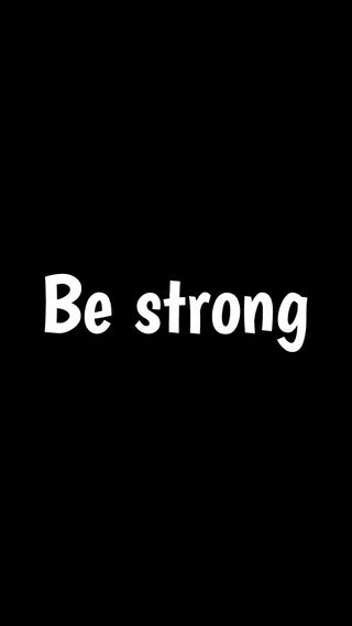 Обои на телефон сильный, черные, текст, мотивационные, логотипы, грани, будь, note, be strong