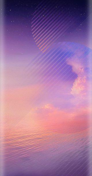 Обои на телефон фиолетовые, самсунг, галактика, samsung note 8, samsung, note8, hd, galaxy