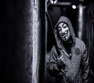 Обои на телефон маска, люди, mask  men
