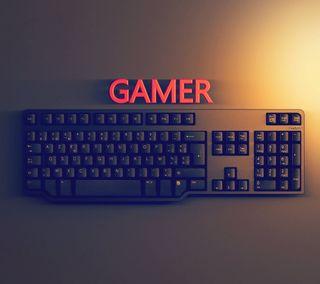 Обои на телефон клавиатура, игры, геймер, hq, hd
