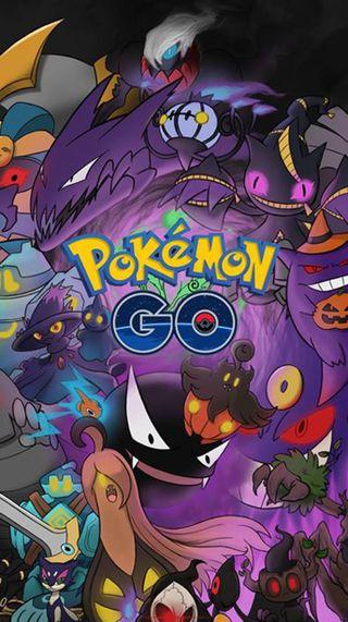 Обои на телефон хэллоуин, покемоны, покемон, pokemon go hallowen