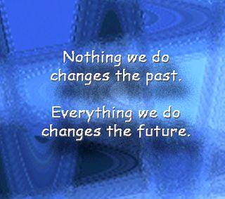 Обои на телефон прошлое, менять, поговорка, вдохновляющие, будущее