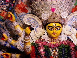 Обои на телефон фестиваль, индийские, navaratri, goddess, durgadevi, durgaamata, durga mata