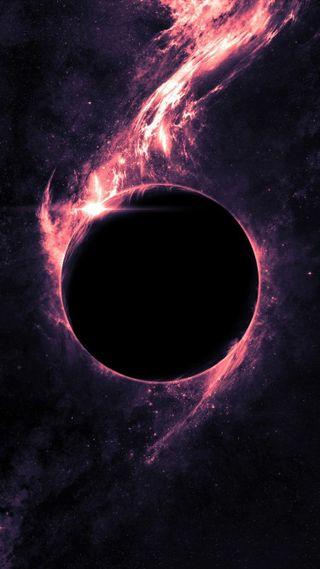 Обои на телефон солнечный, черные, туманность, судьба, планета, охотник, отверстие, затмение, unknown, inferno