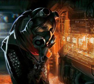 Обои на телефон код, девушки, вор, thief girl, masked