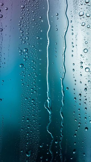 Обои на телефон абстрактные, капли, капли дождя