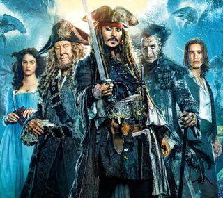 Обои на телефон пираты, карибсий, дисней, johnny depp, disney