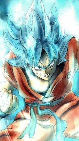 Обои на телефон супер, синие, мяч, дракон, гоку, goku blue, dragon ball super