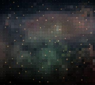 Обои на телефон мозаика, шаблон, звезда, абстрактные