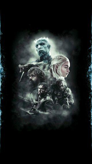 Обои на телефон престолы, супер, снег, мяч, игра, зима, дракон, бог, walker, rococo, dragon