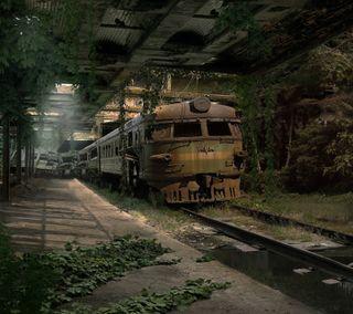 Обои на телефон поезда, любовь, классные, love, abandonded train, 2016