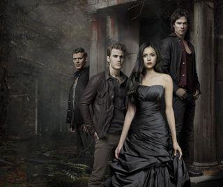 Обои на телефон vampire diaries, the vampire diaries, вампиры