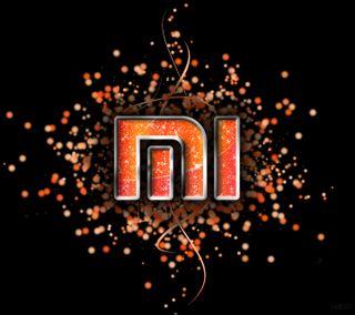 Обои на телефон ми, черные, сяоми, оранжевые, логотипы, xiaomi logo, xiaomi, mi logo