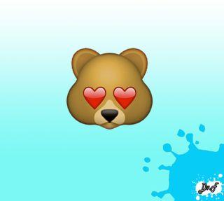 Обои на телефон икона, медведь, любовь, ws, love