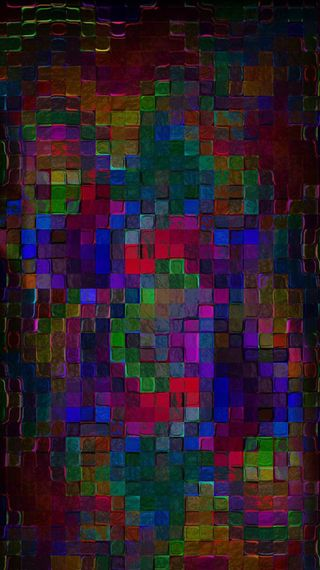 Обои на телефон цветные, мозаика