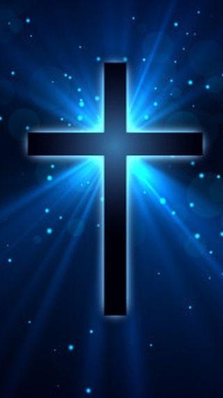 Обои на телефон яркие, синие, религиозные, крест, величественные, белые, majestic cross