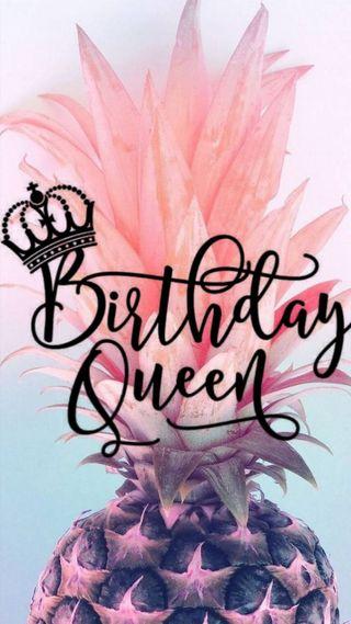 Обои на телефон королева, день рождения
