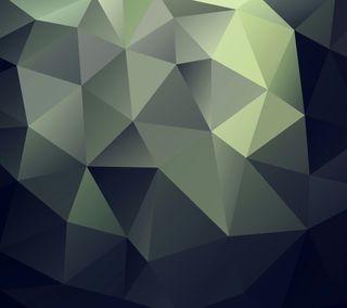 Обои на телефон многоугольник, треугольник, polygon 13