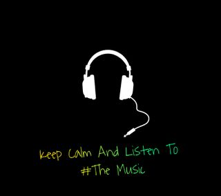 Обои на телефон спокойствие, музыка, keep calm, keepcalm
